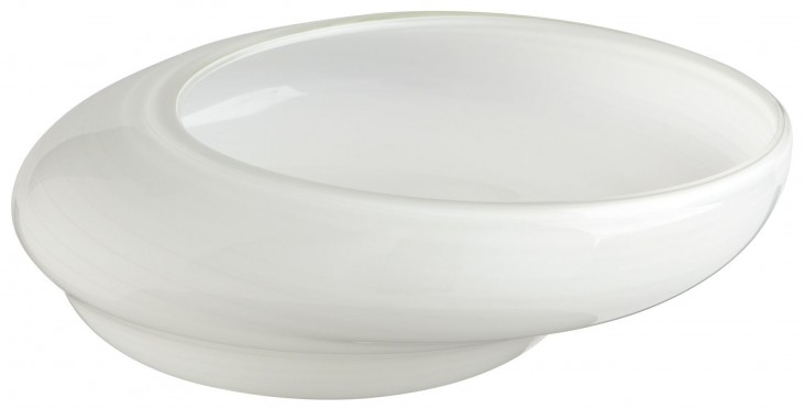 White Oyster Large Bowl