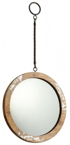 Through The Looking White Glass Mirror