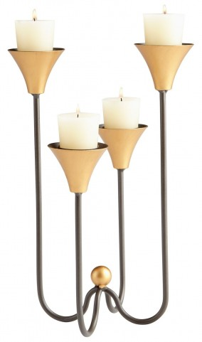 Bell Tower Small Candleholder