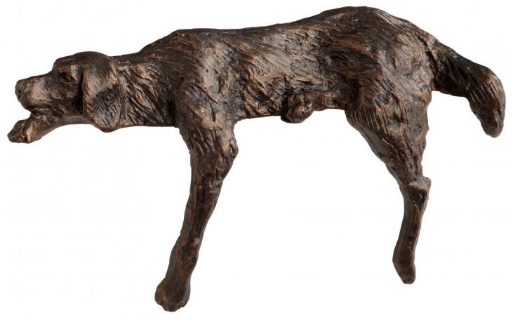 Lazy Dog Sculpture