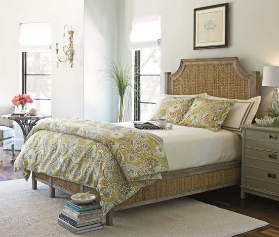 Coastal Living Resort Weathered Pier Water Meadow Woven Bedroom Set