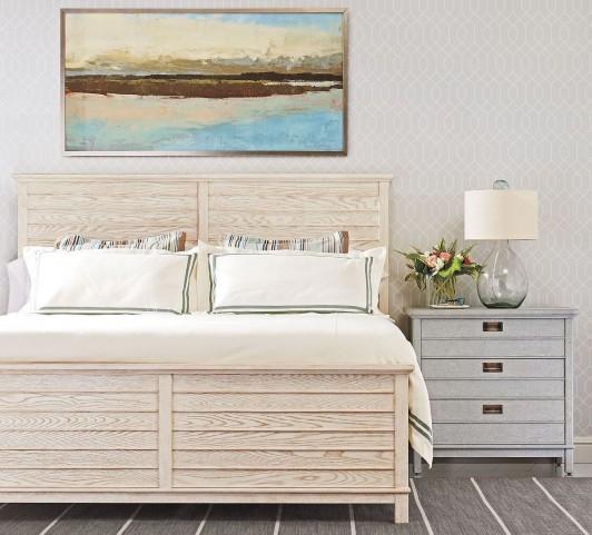 Coastal Living Resort Cape Comber Sail Cloth Panel Bedroom Set