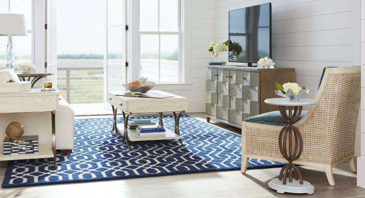 Coastal Living Resort Sail Cloth Windward Dune Occasional Table Set