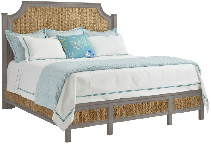 Coastal Living Resort Morning Fog Water Meadow King Woven Bed