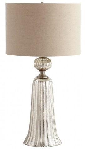Glass Tower Table Lamp