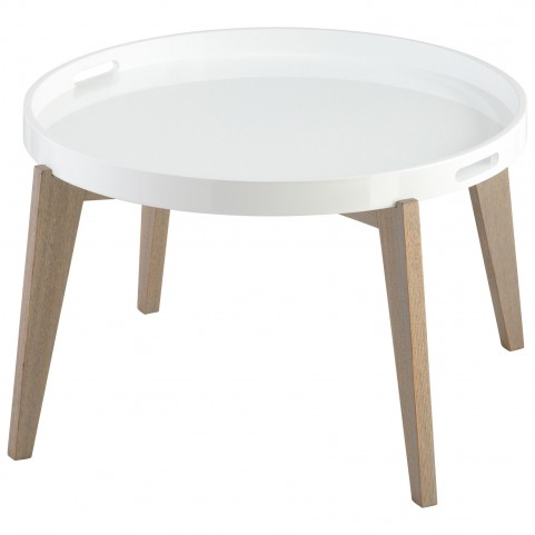 Lacquer Van Dyke Table