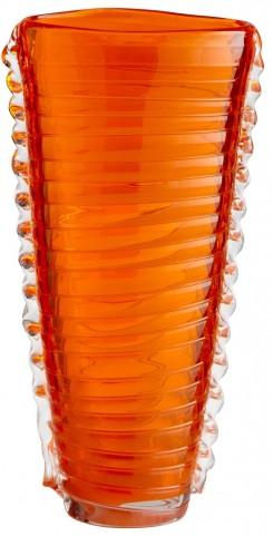 Dollie Orange Small Vase