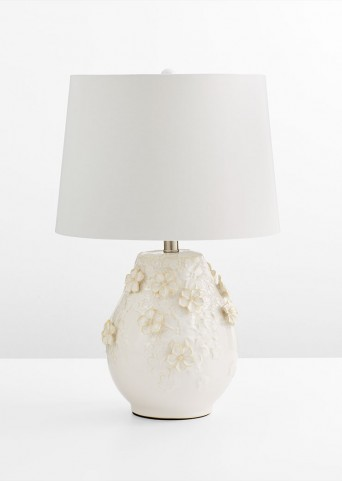 Eire White Table Lamp