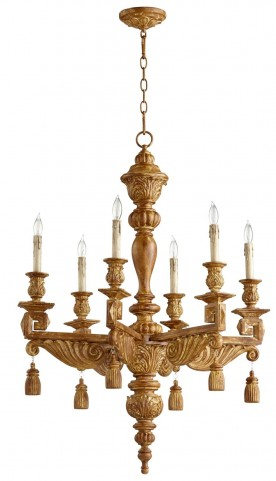 Brenton French Umber 6 Light Chandelier
