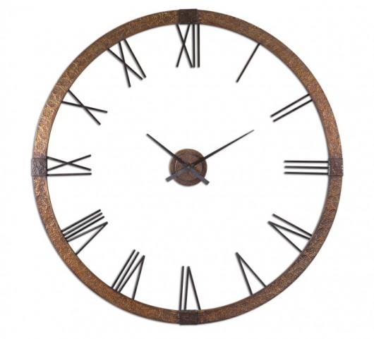 "Amarion 60"" Copper Wall Clock"