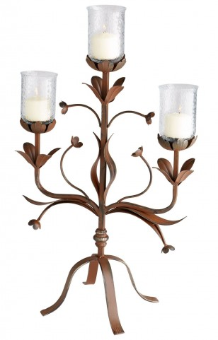 Azalea Candleholder