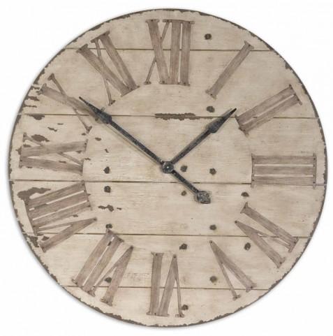 "Harrington 36"" Wooden Wall Clock"