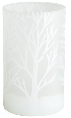 Frosted Bark Small Vase
