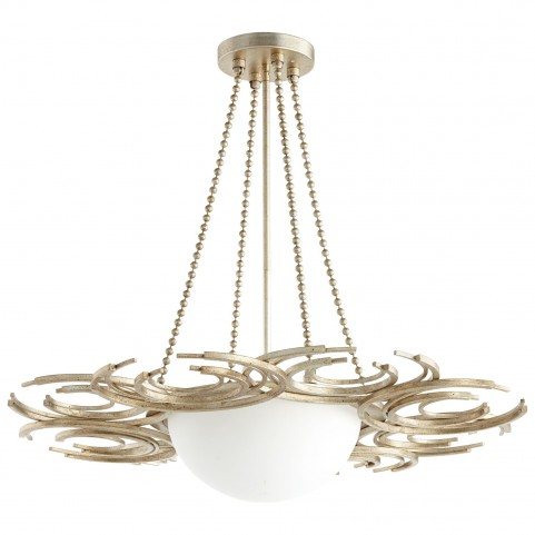 Vivian Silver 3 Light Pendant