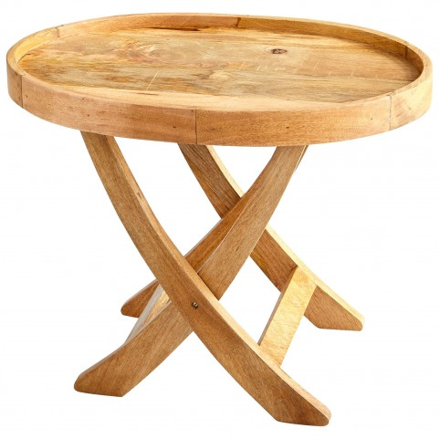 "Rustica 24""H Tray Table"