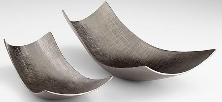 Armada Textured Bronze Large Tray