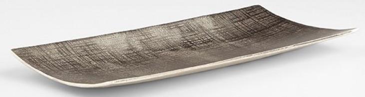 Aerolite Textured Nickel Medium Tray