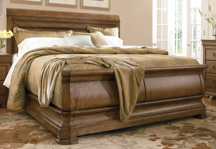New Lou Louie Philips Queen Sleigh Bed