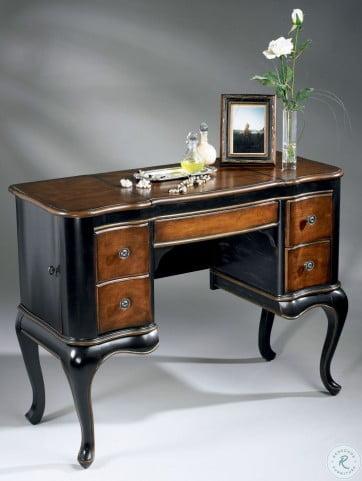 Charlotte Cafe Noir Vanity From Butler Coleman Furniture