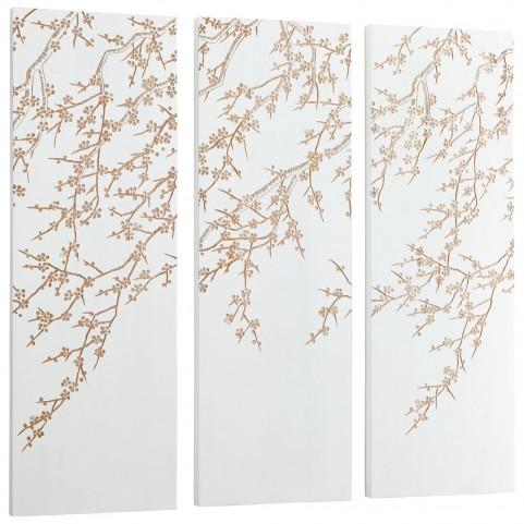 Cherry Blossom 3 Piece Wall Art