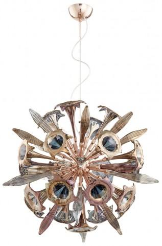 Remy Copper 12 Light Pendant