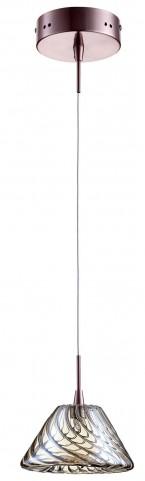 Orson Satin Copper 1 Light Pendant