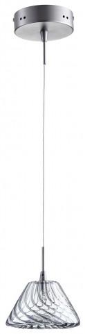 Orson Satin Nickel 1 Light Pendant