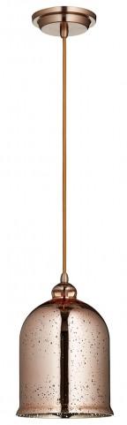 Celia Satin Copper Pendant