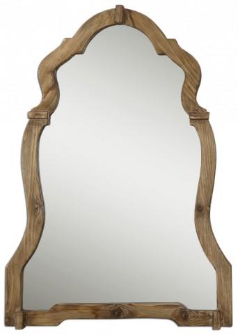 Agustin Light Walnut Mirror