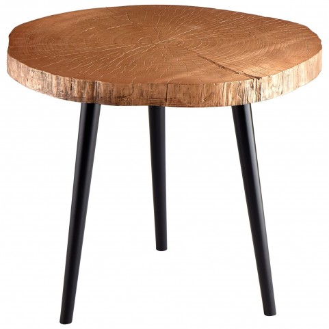 Timber Copper Side Table