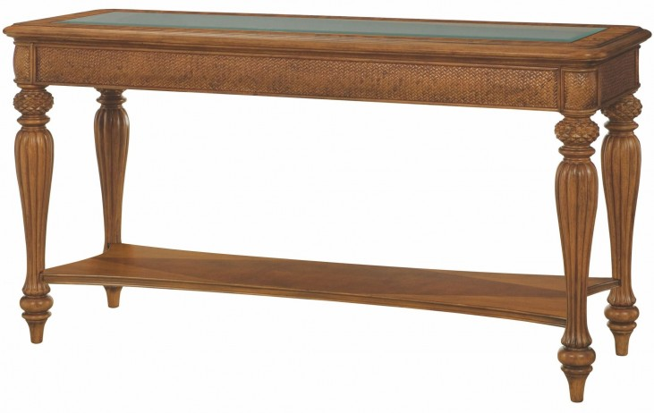 Grand Isle Amber Sofa Table