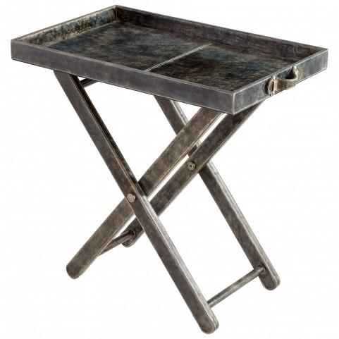 Maitre d' Grey Tray Table