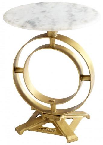 Omniscient Marble Top Table