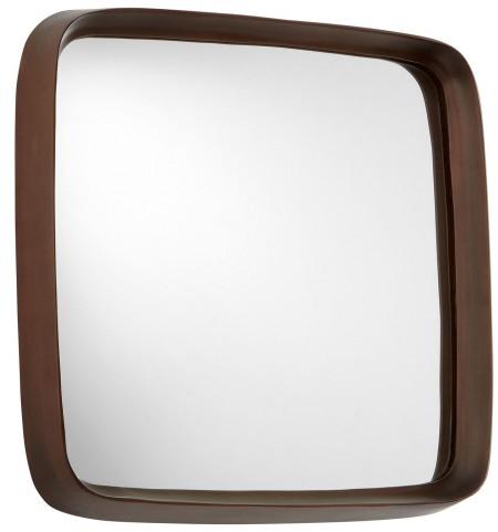 Square'd Antique Copper Mirror