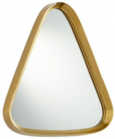 Rack'em Satin Brass Mirror