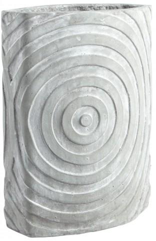 Illusionary Grey Stone Planter