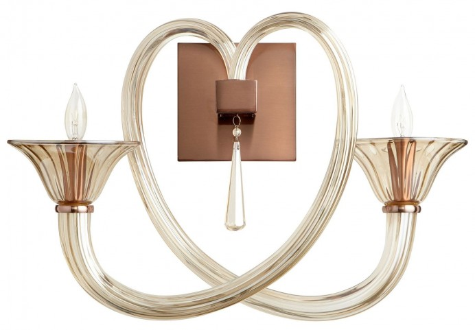 Amore Satin Copper Wall Bracket