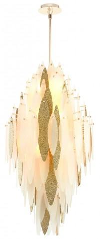 Vega Satin Gold Pendant