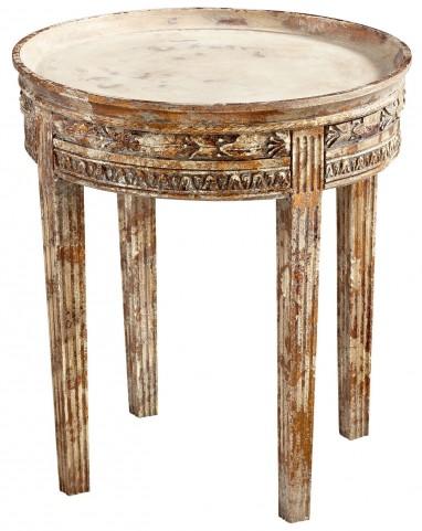 Annalisa Whitewashed Table