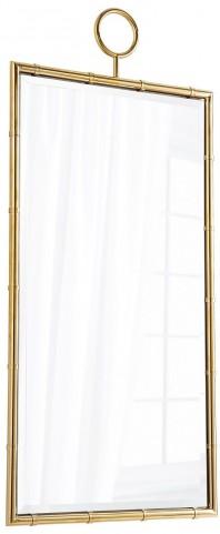 Golden Brass Image Mirror