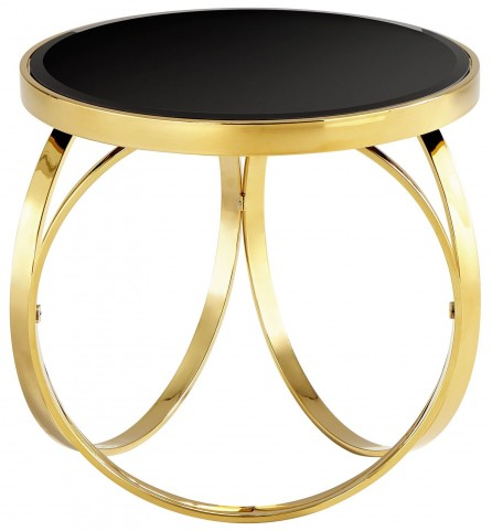 Put A Ring On It Brass Side Table