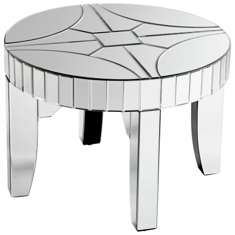 Rennay Clear Side Table