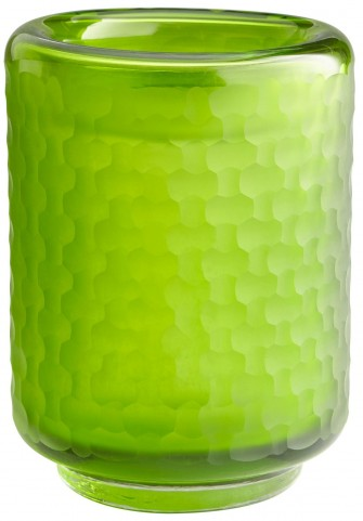 Small Lemon Lime Vase