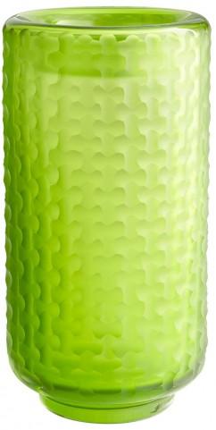 Large Lemon Lime Vase