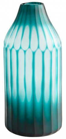 Medium Green On The Contrary Vase