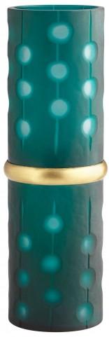 Small Cascade Parade Green Vase