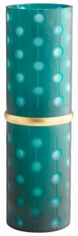 Medium Cascade Parade Green Vase