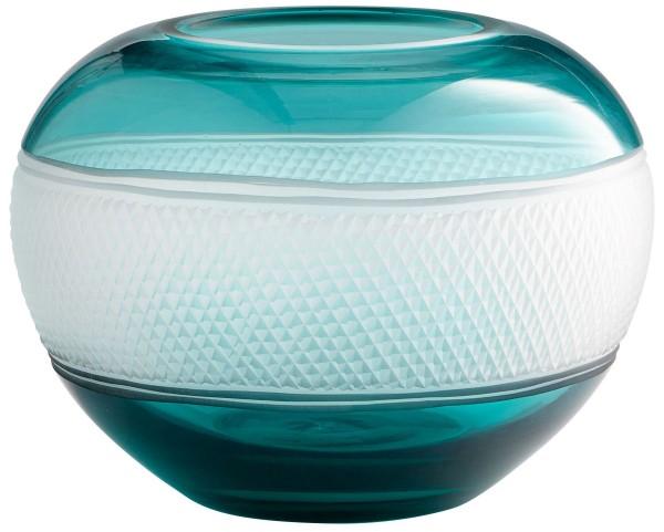 Small Blue Calypso Vase