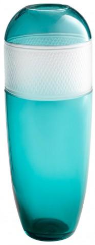 Large Blue Calypso Vase