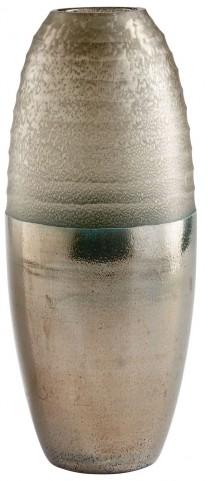 Large Around The World Bronze Vase